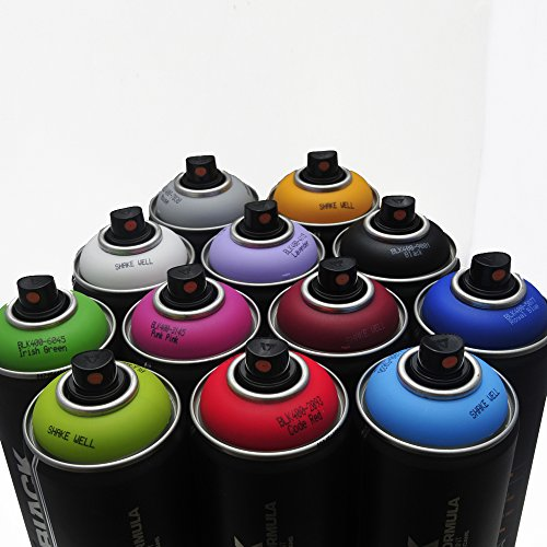 Montana-BLACK-400ml-Popular-Colors-Set-of-12-Graffiti
